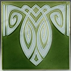Art Nouveau & Art Deco Tiles. German, Bankel. This item is sold. To visit my website to see what's in stock click here: http://www.richardhoppe.co.uk or for help or information email us here: info@richardhoppe.co.uk