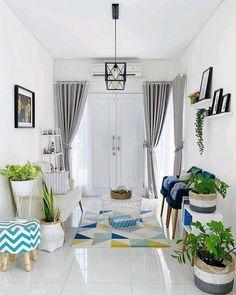 Living Room Sofa Design, Small Living Rooms, Living Room Modern, Home Living Room, Living Room Designs, Living Room Decor, Small House Interior Design, Home Room Design, Aesthetic Room Decor