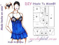What About Amazing Easy Sewing Projects ? Lingerie Patterns, Sewing Lingerie, Barbie Patterns, Clothing Patterns, Sewing Patterns, Sewing Clothes, Diy Clothes, Sexy Outfits, Pretty Outfits