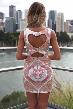 Beautiful dress! Love the cut-out heart