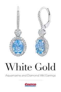 e07270d60 Gemstone Earrings. Gemstone EarringsDiamond EarringsCostcoDiamond StudsEar JewelryDiamond  Drop Earrings