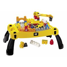 "G: THIS ONE IS REALLY COOL! Mega Bloks CAT Ultimate Construction Site (7860) - Mega Bloks - Toys ""R"" Us"
