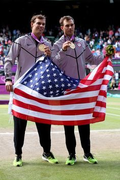 The Bryan Brothers fulfilled a lifelong dream by winning the men's Doubles Tennis gold medal for the US at the Olympics!