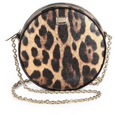 24d69a7a869 Dolce   Gabbana Leopard-Print Shoulder Bag ( 930) ❤ liked on Polyvore  featuring