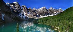 Gorgeous! Moraine Lake Rocky Mountains  Alberta, Canada