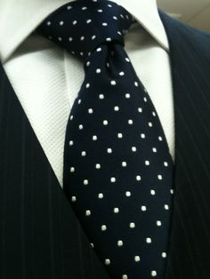 Love polka dots and men secure enough to rock them.