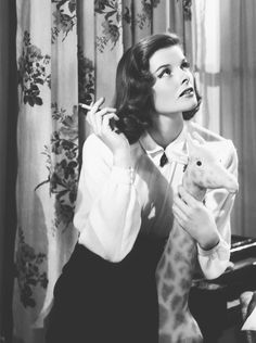 {Katharine Hepburn} Holiday, 1938 - fabulous photograph!