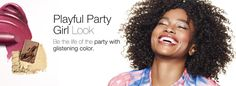 Fall in Love with your FAV look! The NEW Makeup Artist Looks are HERE!!  Playful Party Girl Look: Be the life of the party with glistening color.  http://www.marykay.com/skatzung/en-US/TipsAndTrends/MakeupArtistLooks/Pages/playful-party-girl-look.aspx