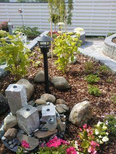 """Suihkulähde""lepää nyt. Backyard, Patio, Outdoor Decor, Plants, Home Decor, Decoration Home, Room Decor, Backyards, Plant"