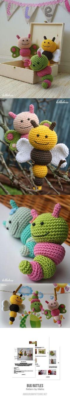 Bug Rattles amigurumi pattern by lilleliis
