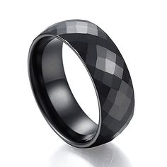 Caperci 8mm Men's Marvelous Domed Multi Faceted Black Ceramic Ring Wedding Band Comfort Fit Size 12 Caperci http://www.amazon.com/dp/B00R4AI93Y/ref=cm_sw_r_pi_dp_Xu8-vb1GE4PS0