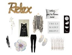 """""""Relax"""" by lauren-washburn ❤ liked on Polyvore featuring art"""