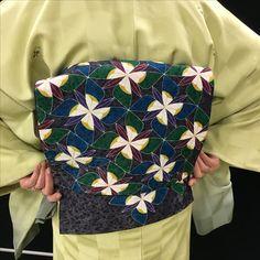 今日のきもの。着物コーディネートです。 http://kimonolady.co.jp/ #kimono#kimonogirl#着物#japan#きもの #fashion#帯#obi#look#traditional #コーディネート#coordimate