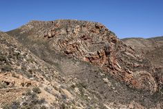Cape Rock folds along the Swartberg Pass created by tectonic shifts over 120 million years ago. Storytelling, Grand Canyon, City Photo, Cape, Rock, Nature, Travel, Mantle, Cabo
