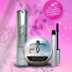 Golden Caviar Skin Care, Skin Care that guarantees results! www.goldencaviarskincare.com