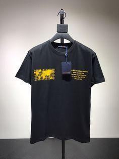 69f3f3ea404 Louis Vuitton Print Map T-Shirt In Black