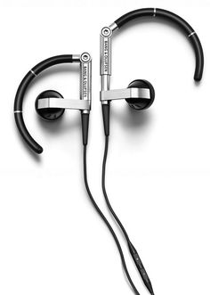 Bang & Olufsen EarSet Stereo Headset – Perfect Companion for Apple Fans.fucking classy as Hell. Showroom, Sound Speaker, Bang And Olufsen, Best Headphones, Latest Gadgets, Gadget Gifts, Wireless Earbuds, Audiophile, Headset