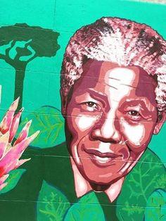 Nelson Mandela Artwork to commemorate his 97th birthday! We love you Mandela!