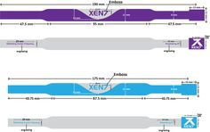 XEN7 SwishFlow™ wristband with measurements. Ready to go into manufacturing :)