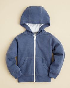 Vince Boys' Thermal Double Layer Hoodie - Sizes 2-7