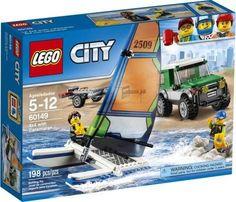 Lego City : 4x4 avec catamaran - Castello   Jeux et Jouets
