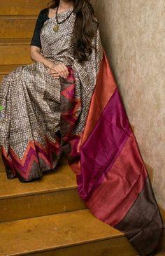 Chanderi Silk Saree, Indian Silk Sarees, Silk Cotton Sarees, Pure Silk Sarees, Cotton Saree Designs, Silk Saree Blouse Designs, Silk Sarees Online Shopping, Silk Sarees With Price, Block Print Saree