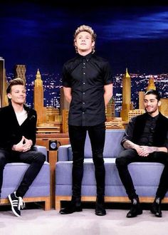 on the tonight show last night with Jimmy Fallon... those skinny jeans...