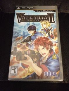 Brand New Factory Sealed VALKYRIA CHRONICLES II 2 Playstation Portable PSP - http://videogamedevils.com/2014/02/27/brand-new-factory-sealed-valkyria-chronicles-ii-2-playstation-portable-psp/