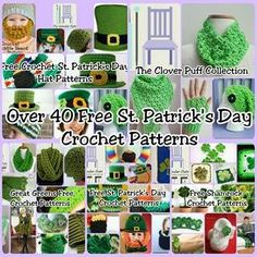 Over 40 Free St. Patrick's Day Crochet Patterns - The Lavender Chair