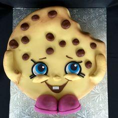 Birthday Celebration w/ Shopkins Kooky Cookie: Marble Cake