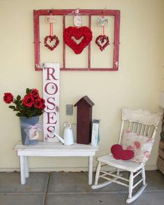 Valentine's Day is not exactly an overly experessed holiday in the decorating department. Yes, there is a lot of marketing toward candy and cards, but do you do a lot of decorating? Not man…