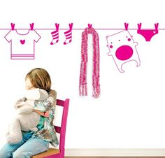 Also for the kids rooms Wall Decals, Hanger, Kitty, Kids Rooms, Children, Design Ideas, 3d, Decor, Coat Hooks