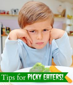 Do you have a picky eater?  Feeding strategies, Getting kids to eat more vegetables, fun snack ideas, and more!