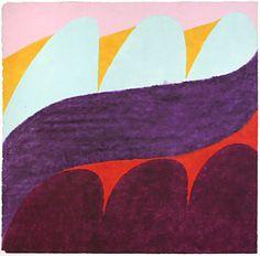 Carol Summers. Esperanza, 1978. Woodcut. AP. 30 x 30 inches.