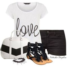 Womens Outfits Trends by Nalasha Gayden... find more women fashion on www.misspool.com
