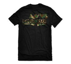 Our popular Big Bass Dreams Logo Tee now in a CAMO pattern!