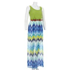 Fancy Crochet Top Maxi Dress Maxi Dresses Women Burlington Coat Factory