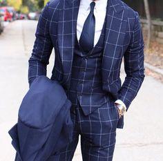Windowpane Suit by @tomaslasoargos