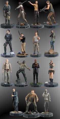 With the continuation of the sixth season of the series The Walking Dead to Eaglemoss Brazil announces an incredible novelty: his collection The Walking Dead.