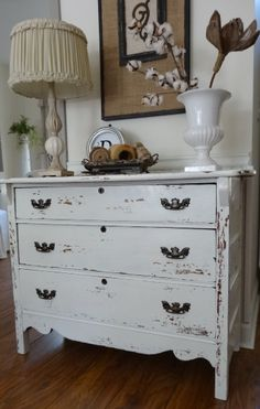 The Essence of Home: Distressed Furniture