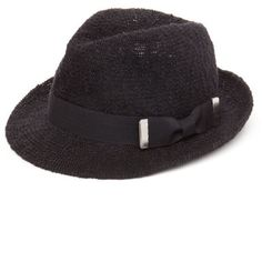 Collection Xiix Black Color Expansion Fedora Hat ($10) ❤ liked on Polyvore featuring accessories, hats, black, collection xiix, black fedora, fedora hat, black fedora hat and black hat