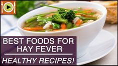 Best Foods for Hay Fever | Healthy Recipes  Video  Description Don't forget to check out our brand new website –  Be it any condition, a healthy diet is a road to fast recovery. Watch this video for some quick and easy recipes to help you recover from Hay Fever!... - #Videos https://healthcares.be/videos/best-diet-and-healthy-recipes-video-best-foods-for-hay-fever-healthy-recipes/