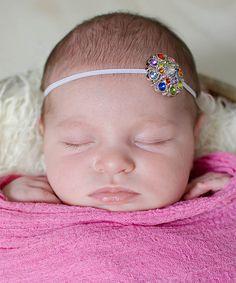 Look what I found on #zulily! Rainbow Gem Headband #zulilyfinds