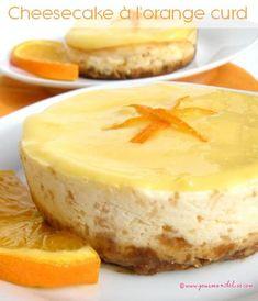 Cheesecake à l'orange curd