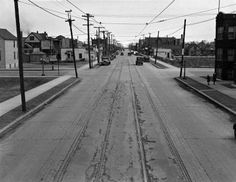 Corner of 106th ave L looking East, early days