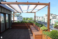Ogród na dachu - zdjęcie od Zielony Styl -Projektowanie, realizacja ogrodów - Ogród - Zielony Styl -Projektowanie, realizacja ogrodów