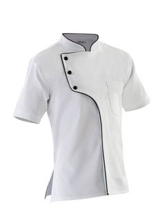 Camisas Chef Master Chef, Healthcare Uniforms, Hotel Uniform, Restaurant Uniforms, Uniform Design, Barista, Chef Jackets, Menswear, Mens Fashion