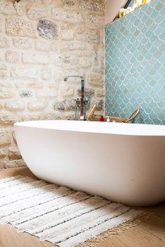 La salle de bain de Laura Foulquier, la créatrice de Lorafolk