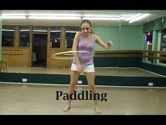 Hooping and Hoop Dance Tutorial - Paddling to help with Shoulder Hooping - YouTube