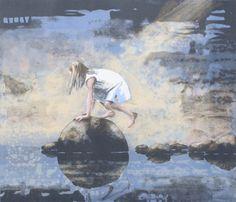 Lars Løken - Sensommer Artists, Fine Art, Painting, Kunst, Painting Art, Paintings, Visual Arts, Painted Canvas, Artist